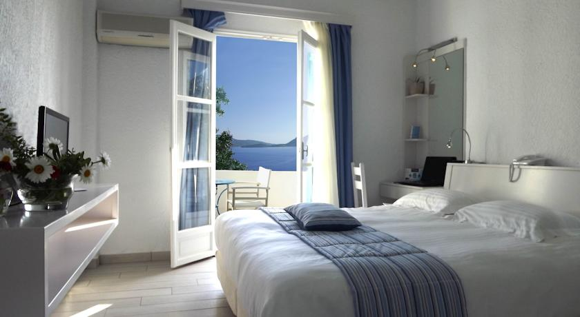 Aegialis Hotel Room Greece Blue Walk Greece vacation European walking tour