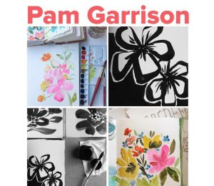 Art journal workshop Pam Garrison Italy