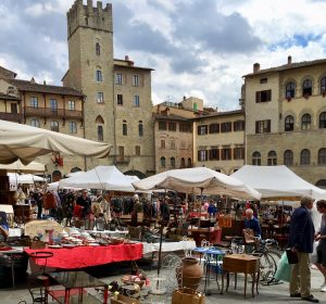 Travel journal workshop with Pam Garrision Italy Flea Market