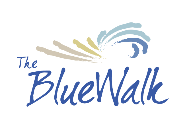 The Blue Walk Logo
