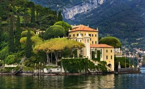 Villa Balbianello Lake Como Italy art workshop walking vacation