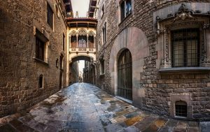 Barcelona gothic quarter walking tour vacation