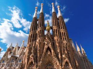 Barcelona Spain Gaudi walking tour
