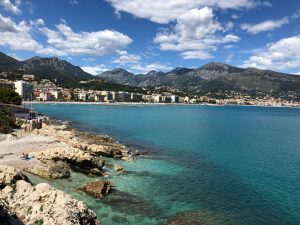 Menton Coast Blue Walk France Walking Tour