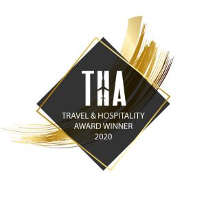 travel and hospitality award badge