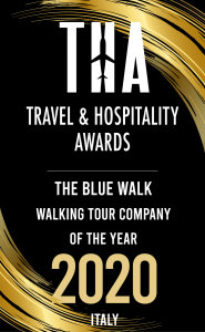 Travel and Hospitality Awards Badge Best Walking Tour Italy