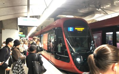 Travel Between Nice Airport and Central Nice on Tram 2