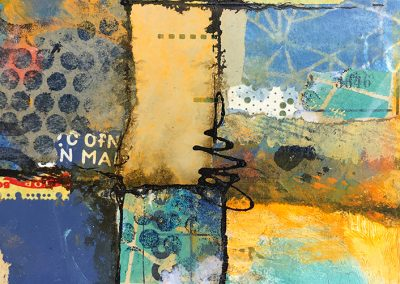Mary Beth Shaw multimedia art journal classes