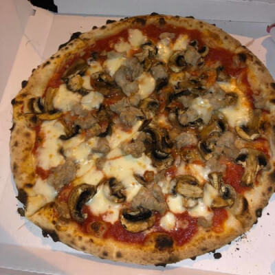 Pizza Sausage and Mushroom
