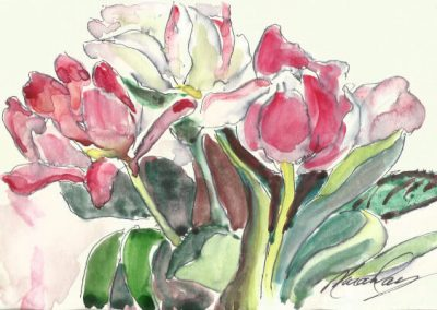 Kath Macaulay watercolor and sketchbook workshop art vacation